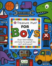 Treasure Hunt for Boys, Board book