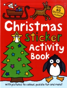Christmas Sticker Activity Book, Paperback