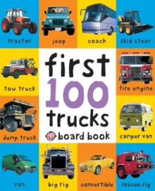 First 100 Trucks, Board book