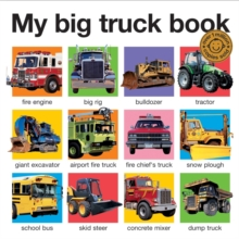 My Big Truck Book, Board book
