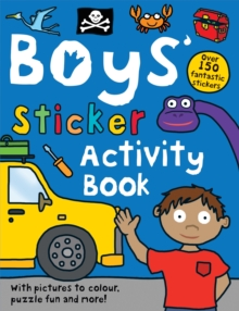 Boys' Sticker Activity Book, Paperback
