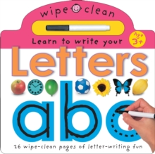 Learn To Write Your Letters, Board book
