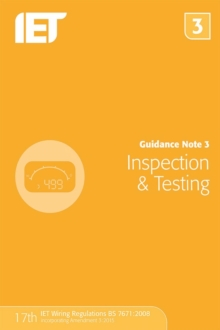 Guidance Note 3: Inspection & Testing, Paperback