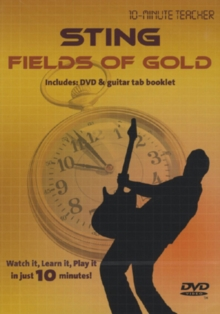 10-minute Teacher: Sting - Fields of Gold, DVD  DVD
