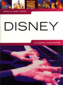 REALLY EASY PIANO DISNEY, Paperback