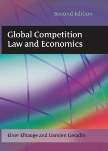 Global Competition Law and Economics, Paperback Book