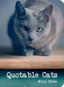 Quotable Cats, Hardback Book