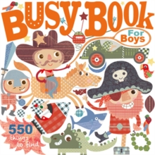 Busy Book : For Boys, Board book