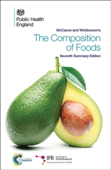 McCance and Widdowson's the Composition of Foods, Paperback