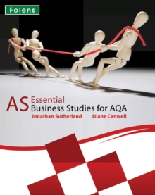 Essential Business Studies A Level: AS Student Book for AQA, Paperback