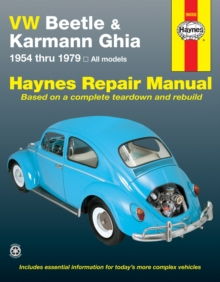 VW Beetle and Karmann Ghia (1954-79) Automotive Repair Manual, Paperback