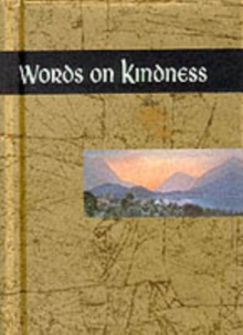 Words on Kindness, Hardback