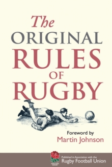 The Original Rules of Rugby, Hardback Book