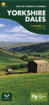 Yorkshire Dales : Map for Touring and Planning, Sheet map, folded