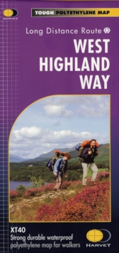 West Highland Way XT40, Sheet map, folded Book