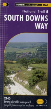 South Downs Way : National Trail, Sheet map, folded