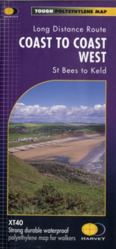 Coast to Coast West XT40 : St Bees to Keld Pt. 1, 2, Sheet map, folded