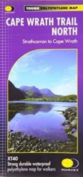 Cape Wrath Trail North XT40 : Route Map, Sheet map, folded