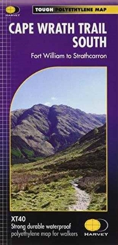 Cape Wrath Trail South XT40 : Route Map, Sheet map, folded