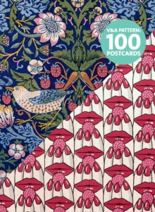 V&A Pattern: 100 Postcards, Postcard book or pack