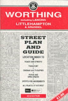 Worthing and Littlehampton : Street Plan and Guide, Sheet map, folded