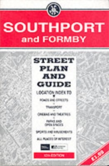 Southport and Formby Street Plan & Guide, Sheet map, folded Book