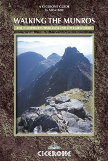 Walking the Munros Vol 2 - Northern Highlands and the Cairngorms, Paperback