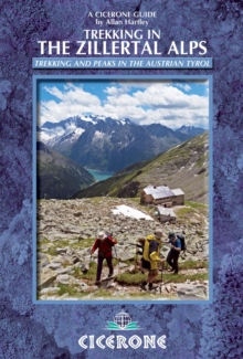Trekking in the Zillertal Alps, Paperback