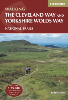 The Cleveland Way and the Yorkshire Wolds Way, Paperback Book
