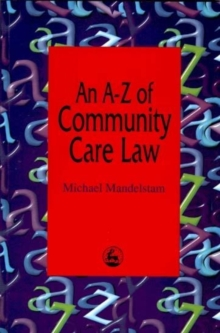 An A-Z of Community Care Law, Paperback