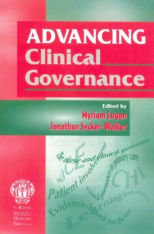 Advancing Clinical Governance, Paperback Book