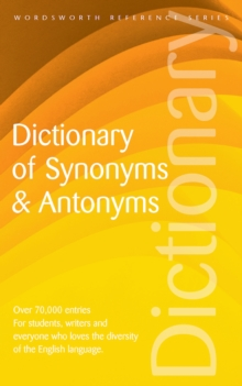 Dictionary of Synonyms and Antonyms, Paperback