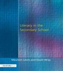 Literacy in the Secondary School, Paperback Book