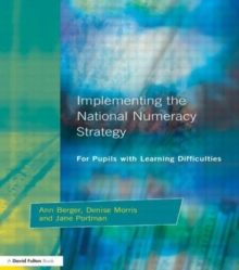 Implementing the National Numeracy Strategy : For Pupils with Learning Difficulties, Paperback