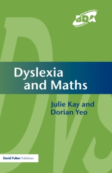 Dyslexia and Maths, Paperback