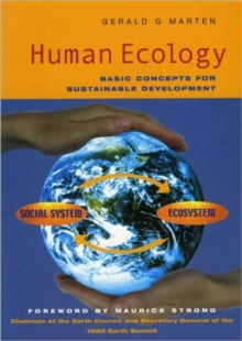 Human Ecology : Basic Concepts for Sustainable Development, Paperback