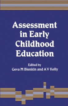 Assessment in Early Childhood Education, Paperback