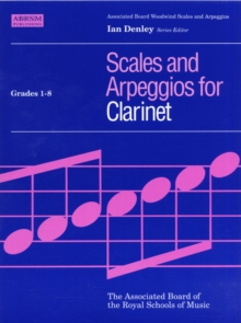Clarinet Scales & Arpeggios, ABRSM Grades 1-8, Sheet music