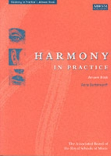 Harmony in Practice: Answer Book, Sheet music
