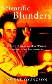 Scientific Blunders, Paperback