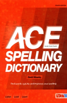 ACE Spelling Dictionary, Paperback
