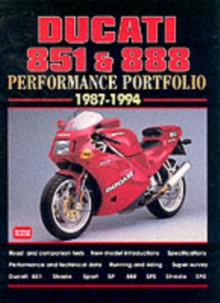 Ducati 851 and 888 Performance Portfolio 1987-1994, Paperback