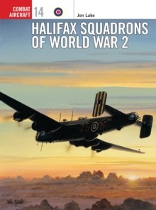 Halifax Squadrons of World War II, Paperback Book