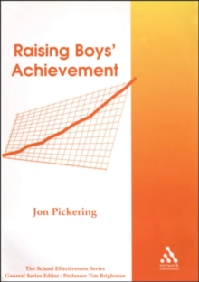 Raising Boys' Achievement, Paperback Book