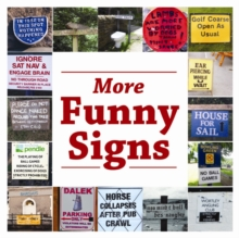 More Funny Signs, Paperback