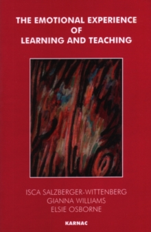 Emotional Experience of Learning and Teaching, Paperback
