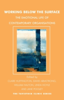 Working Below the Surface : The Emotional Life of Contemporary Organizations, Paperback Book