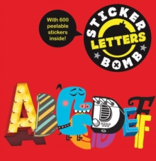 Stickerbomb Letters, Paperback Book