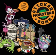 Stickerbomb Monsters, Paperback Book