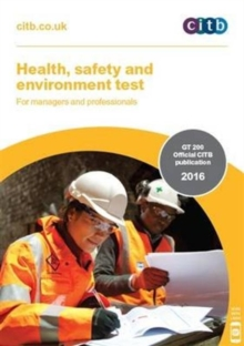 Health, Safety and Environment Test for Managers and Professionals: GT 200, Paperback Book